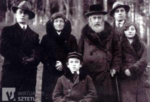 2 Rodzina Zuckermanów z Sanoka w okresie międzywojennym 300x205 - Szymona Jakubowskiego gawędy o przeszłości. Pamięć o ofiarach Holokaustu