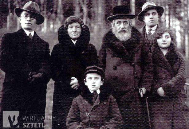 2 Rodzina Zuckermanów z Sanoka w okresie międzywojennym 615x420 - Szymona Jakubowskiego gawędy o przeszłości. Pamięć o ofiarach Holokaustu