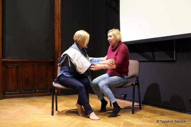 Malgorzta Szyszka w Sanoku 27 630x420 - Małgorzata Szyszka w BWA Sanok. Inspirujące warsztaty
