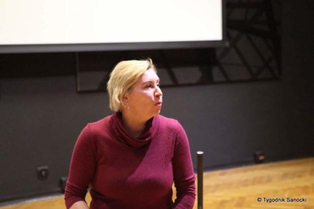 Malgorzta Szyszka w Sanoku 3 630x420 - Małgorzata Szyszka w BWA Sanok. Inspirujące warsztaty
