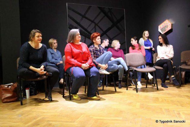 Malgorzta Szyszka w Sanoku 37 630x420 - Małgorzata Szyszka w BWA Sanok. Inspirujące warsztaty