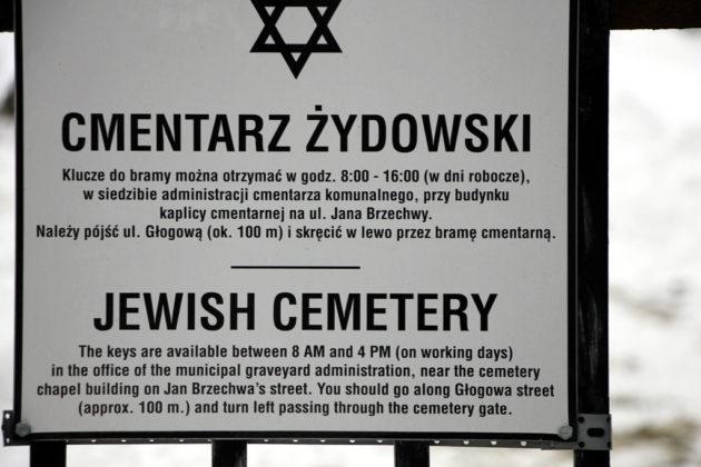 cmentaż żydowski Sanok 1 630x420 - Szymona Jakubowskiego gawędy o przeszłości. Pamięć o ofiarach Holokaustu