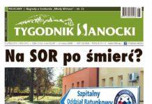 """Nowy numer """"Tygodnika Sanockiego"""" jutro w sprzedaży"""