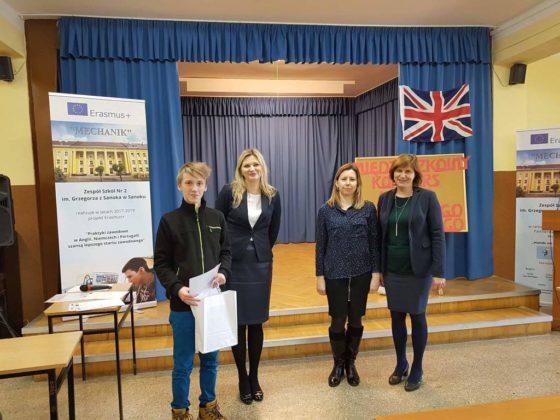 Konkurs Języka Angielskiego Technicznego dla uczniów szkół podstawowych i gimnazjalnych 3 560x420 - Konkurs Języka Angielskiego Technicznego w Zespole Szkół nr 2 w Sanoku
