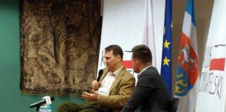 Radosław Sikorski spotkał się z sanoczanami w Sali Gobelinowej