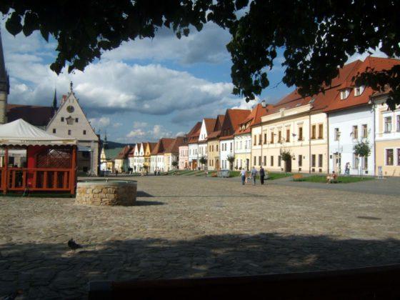 bardiejov rynek fot t barucki 560x420 - Tadeusz Barucki: jeden dzień w Bardejowie