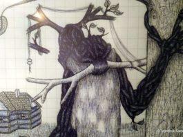 beksiński zamek inspiracje sztuka 10 265x198 -