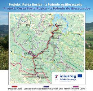 mapa 300x294 - Więcej atrakcji turystycznych w Bieszczadach