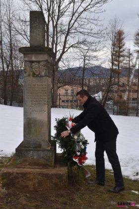 sanok uroczystość pamięć 8 280x420 - W Sanoku uczczono Międzynarodowy Dzień Pamięci o Ofiarach Holokaustu