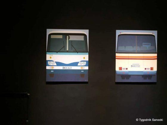wernisaż 7 560x420 - H9-21 w BWA. Autobus z Sanoka w roli modela