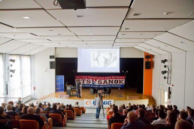 Fot. Tomasz Sowa.IMG 0663 630x420 - 60 lat sanockiej republiki hokejowej. Spotkanie w PWSZ