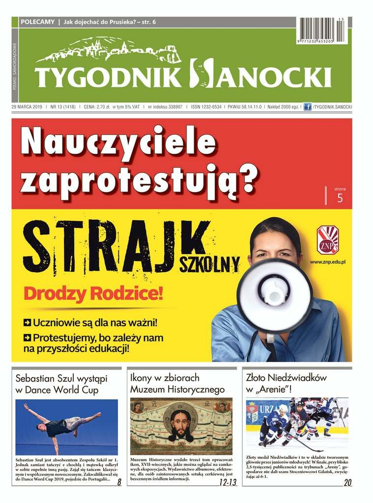 """GRTYS0329s001 759x1024 - Nowy """"Tygodnik Sanocki"""" już w drukarni"""