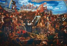 Wójt z Jurowiec i młody książę w delegacji u Leona XIII