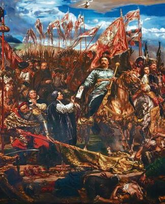 King John III Sobieski Sobieski sending Message of Victory to the Pope after the Battle of Vienna 111 324x400 -
