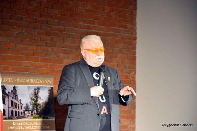 Lech Wałęsa  630x420 - Lech Wałęsa w Krośnie