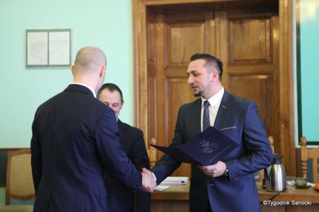 Tomasz Matuszewski i Paweł Hydzik wręczyli najzdolniejszym sanoczanom stypendia sportowe 13 630x420 - Stypendia dla sanockich sportowców przyznane