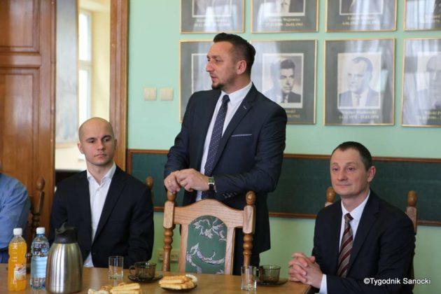 Tomasz Matuszewski i Paweł Hydzik wręczyli najzdolniejszym sanoczanom stypendia sportowe 42 630x420 - Stypendia dla sanockich sportowców przyznane