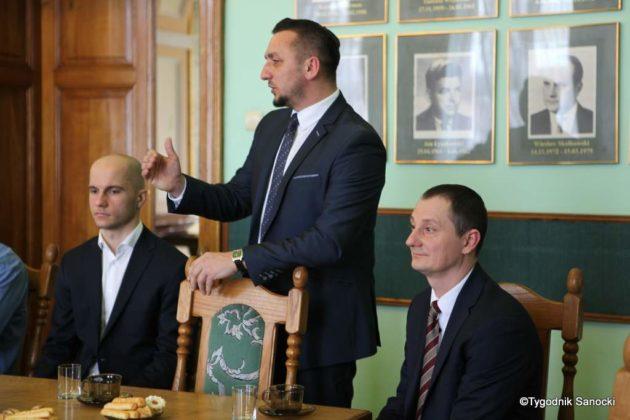Tomasz Matuszewski i Paweł Hydzik wręczyli najzdolniejszym sanoczanom stypendia sportowe 43 630x420 - Stypendia dla sanockich sportowców przyznane