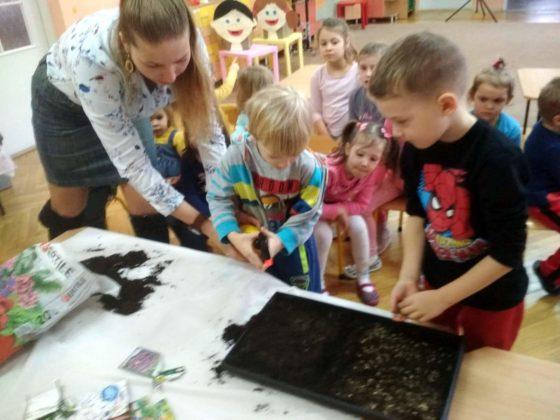 amelia piegdoń 1 560x420 - Wiosennie w przedszkolu na Wójtostwie
