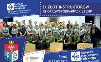 Zaproszenie na IX Zlot Instruktorów Chorągwi Podkarpackiej ZHP