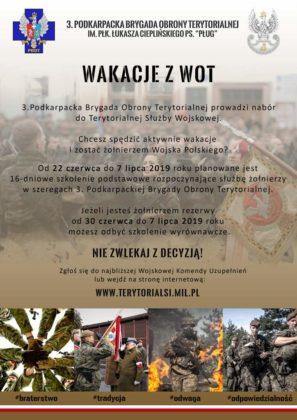 """Wakacje z WOT"""" 8 297x420 - """"WAKACJE Z WOT""""  TO NOWY PROJEKT PODKARPACKICH TERYTORIALSÓW"""