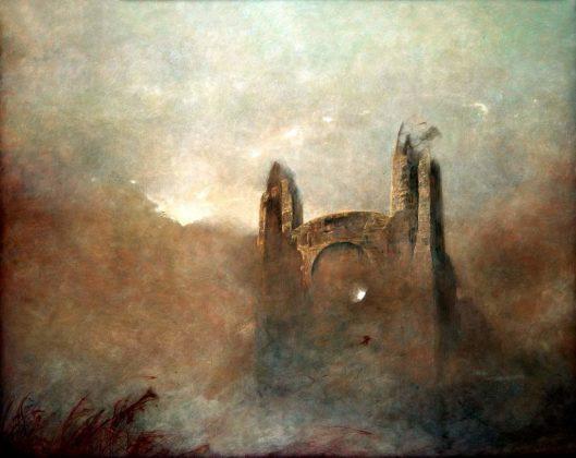 88 01 popr 529x420 - Patrzenie na pożar katedry Notre Dame przez pryzmat twórczości Beksińskiego