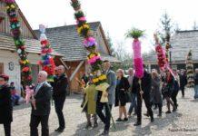 Barwna Niedziela Palmowa w sanockim Skansenie