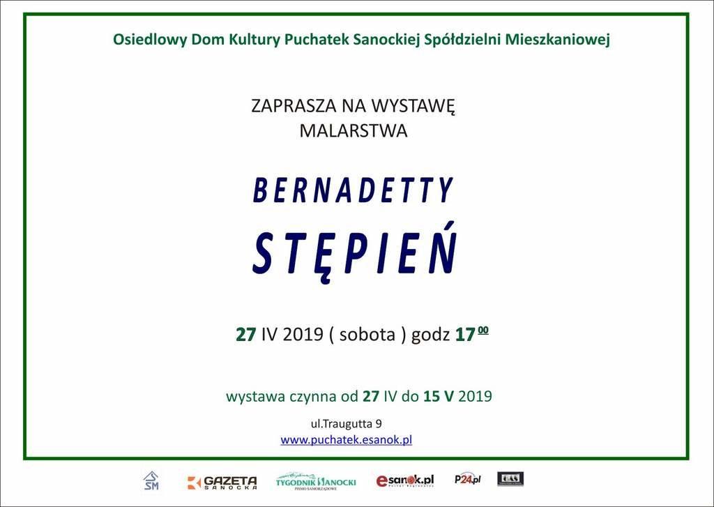 Berzaprosz str2 1024x727 - Wystawa malarstwa Bernadetty Stępień
