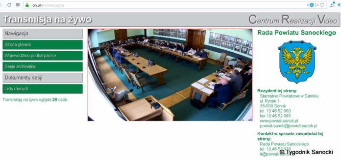 Sesja Powiatu Sanockiego: ostra dyskusja na temat sytuacji szpitala