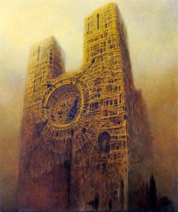 S 2263 353x420 - Patrzenie na pożar katedry Notre Dame przez pryzmat twórczości Beksińskiego