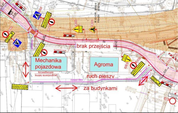 Nowa organizacja ruchu na ul. Okulickiego. Komunikat GDDKiA
