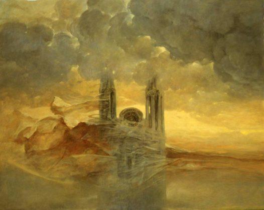 Z 13 popr 526x420 - Patrzenie na pożar katedry Notre Dame przez pryzmat twórczości Beksińskiego