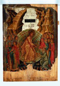 ZSTĄPIENIE DO OTCHŁANI POCHODZENIE WITRYŁÓW 210x300 - Zmartwychwstanie Chrystusa (Anastasis) – ikony z Bezmiechowej Górnej i Witryłowa