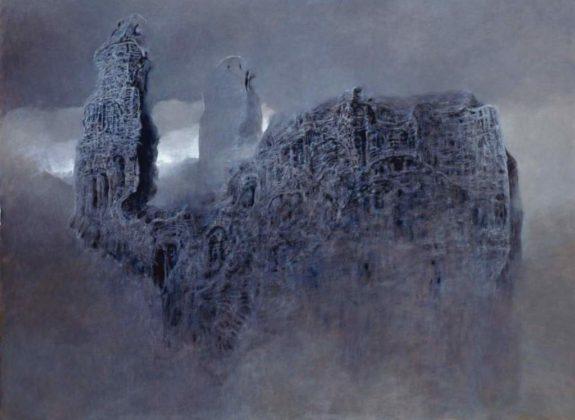img196 WÓ 98 575x420 - Patrzenie na pożar katedry Notre Dame przez pryzmat twórczości Beksińskiego