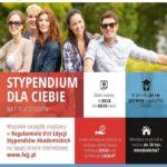 Stypendia w wysokości5000 zł dla maturzystów 2019/2020