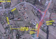 w dniu 27.05.2019 zamknięty zostanie wjazd iwyjazd nadrogę krajową 28 zulicy wewnętrznej położonej nadziałce nr465 Gmina Sanok Obręb Czerteż