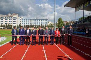 """Fot. Tomasz Sowa Wierchy Sanok otwarcie 98 300x200 - Stadion """"Wierchy"""" uroczyście otwarty"""