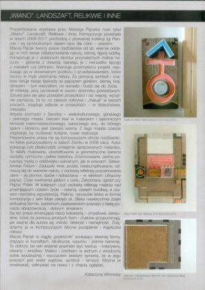 Nowy 2 297x420 - Prace Macieja Pęcaka na wystawie w Muzeum Historycznym