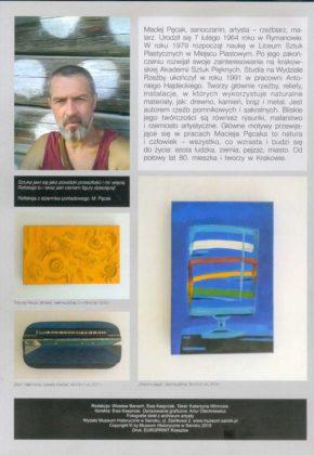Nowy 4 290x420 - Prace Macieja Pęcaka na wystawie w Muzeum Historycznym