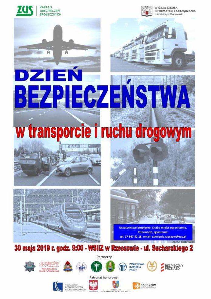 """""""Dzień bezpieczeństwa w transporcie i ruchu drogowym"""" – zaproszenie dla uczniów podkarpackich szkół średnich"""
