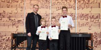 Sukcesy młodych perkusistów