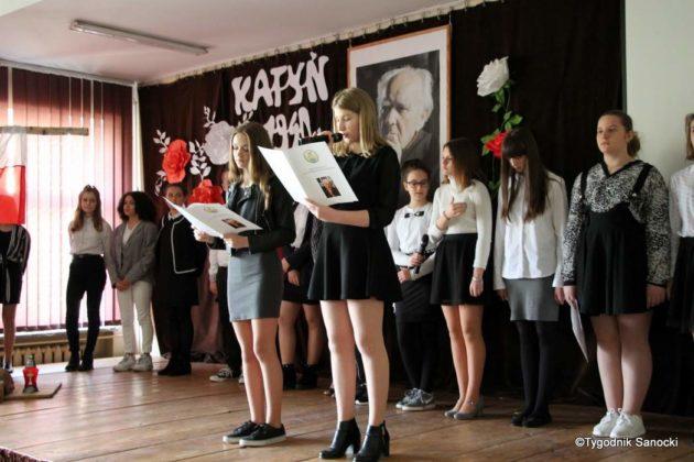 Polska Golgota Wschodu – Katyń 1940 pamiętamy 21 630x420 - Uczniowie SP nr 4 upamiętnili rocznicę zbrodni katyńskich