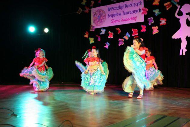 IV Przegląd Dziecięcych Zespołów Tanecznych Ziemi Sanockiej