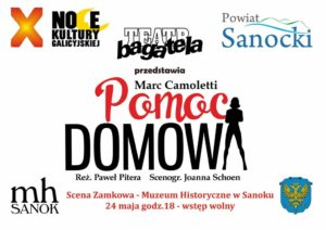 Teatr Bagatela 300x212 - X Noce Kultury Galicyjskiej - PROGRAM