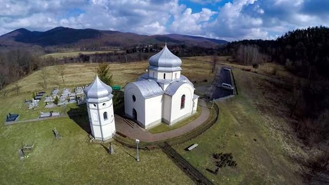 cerkiew - Średniowieczne znaki wiary z trepczańskiej Fajki