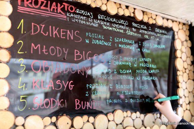 jedzonko 25 630x420 - Festiwal smaków na rynku w Sanoku