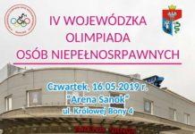 IV Wojewódzka Olimpiada Osób Niepełnosprawnych