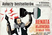 Spotkanie autorskie zRenatą Kijowską - zaproszenie