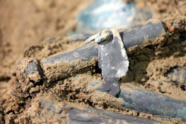 skarb 29 630x420 - Skarb sprzed 3000 lat, znaleziony pod Sanokiem