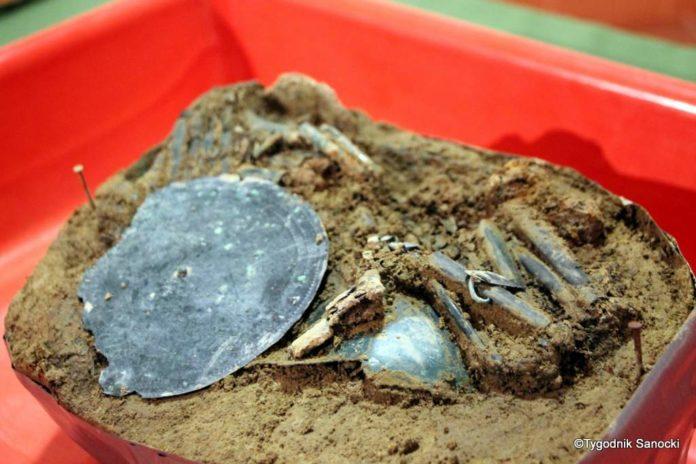 Skarb sprzed 3000 lat, znaleziony pod Sanokiem